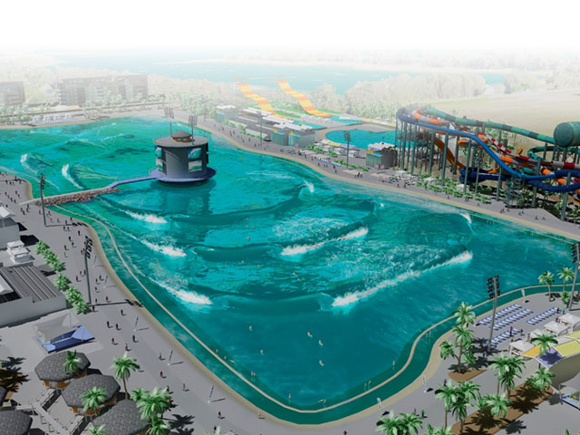 A new artificial wavepool project is coming to australia for Piscina wave